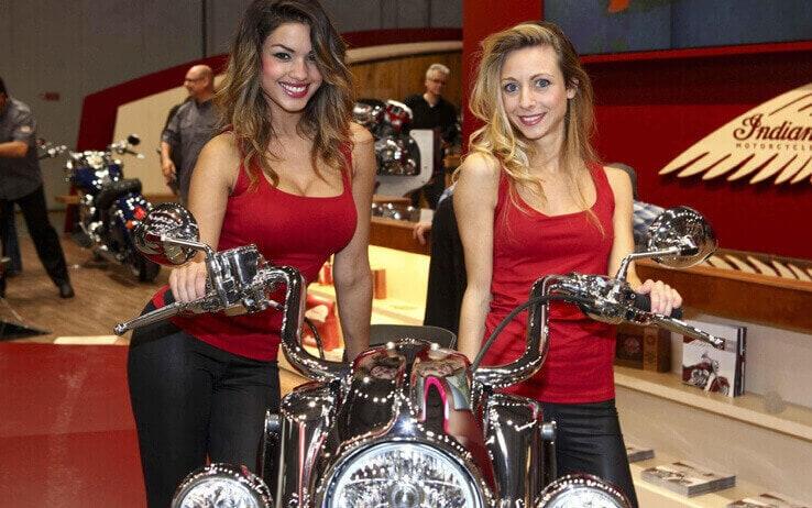 Hostess Motor Bike Expo