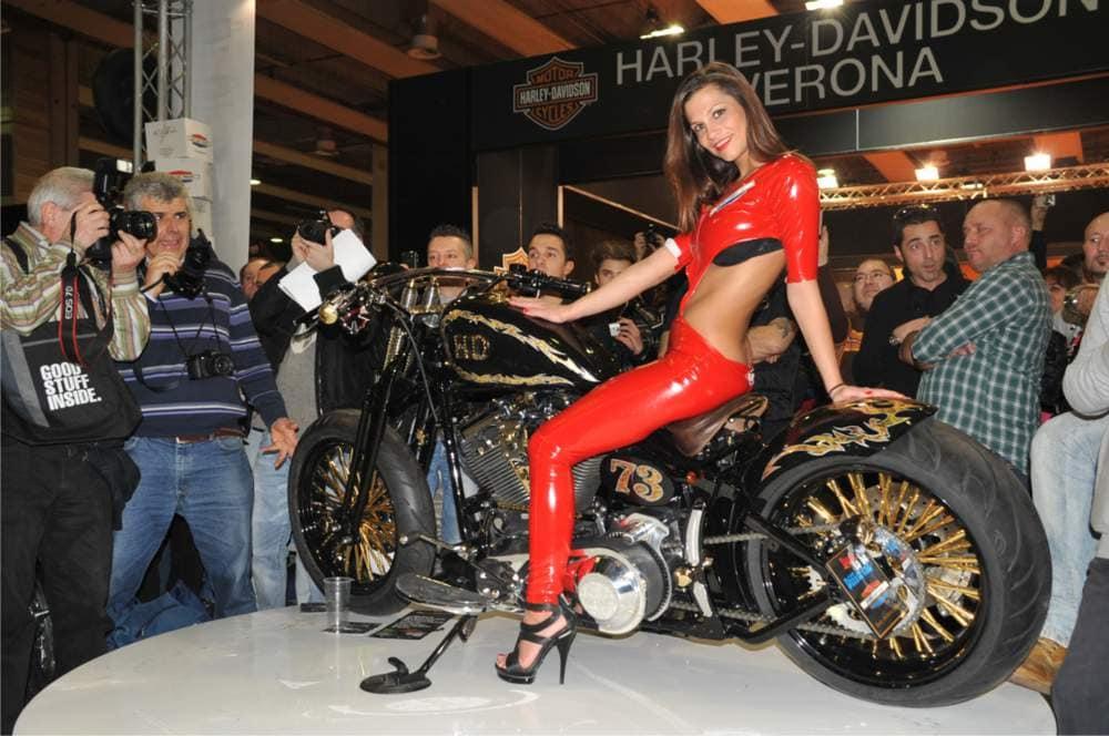 Hostess Motor Bike Expo Verona